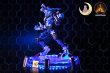 Load image into Gallery viewer, Were Garurumon with LED - Digimon Resin Statue - MIMAN Studios [Pre-Order]