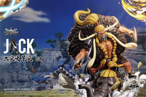 Beasts Pirates Jack - ONE PIECE Resin Statue - YZ Studios [Pre-Order]