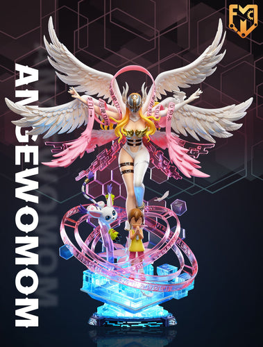 1/6 Scale Angewomon with LED - Digimon Resin Statue - MFC Studios [Pre-Order]