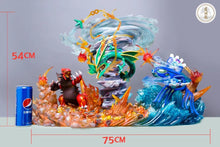 Load image into Gallery viewer, Hoenn Lengendary Pokemon (Groudon, Kyogre & Mega Rayquaza) - Private - Pokemon Resin Statue - LYG Studios [Pre-Order]