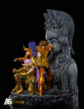 Load image into Gallery viewer, Mu & Milo & Aiolia - Athena Exclamation - Saint Seiya Resin Statue - AS Studios [Pre-Order]