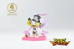 Tailmon x Angewomon - Digimon Resin Statue - BC Studio [Pre-Order]