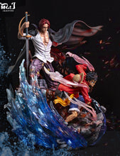 Load image into Gallery viewer, Shanks & Luffy - One Piece Resin Statue - MR.J Studios [Pre-Order]
