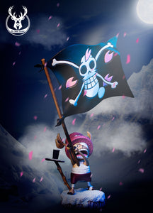 The flag waving Tony Tony Chopper - ONE PIECE Resin Statue - Mr Deer Studios [Pre-Order]