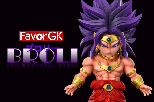 WCF Scale Purple Hair Broly - Dragon Ball Resin Statue - LeaGue Studios [Pre-Order]