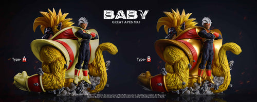 Great Apes NO.1 Baby with LED - Dragon Ball Resin Statue - SHK Studios [Pre-Order]