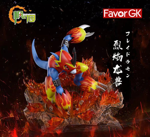 Fladramon with LED - Digimon Resin Statue - FYY Studios [Pre-Order]