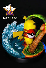 Load image into Gallery viewer, Summer Pikachu - Pokemon Resin Statue - 66 Studios [Pre-Order]