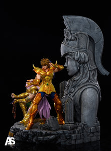 Mu & Milo & Aiolia - Athena Exclamation - Saint Seiya Resin Statue - AS Studios [Pre-Order]