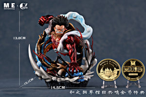 Wano Country Gear fourth Luffy VS Kaido - ONE PIECE Resin Statue - MKE & GZ Studios [Pre-Order]