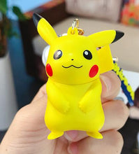 Load image into Gallery viewer, Pikachu/Bulbasaur/Charmander/Squirtle/Psyduck/Jigglypuff - Pokemon Key Chains - Official [In Stock] - FavorGK
