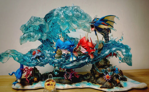 Gyarados - Private - Pokemon Resin Statue - Gene Studios [In Stock] - FavorGK