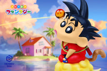 Load image into Gallery viewer, Goku Cosplay Shin-chan - Crayon Shin-chan Resin Statue - Memory box Studios [Pre-Order] - FavorGK