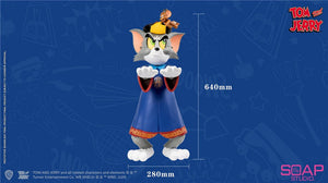 Zombie Form Tom and Jerry  - Tom and Jerry Resin Statue - Soap Studios [Pre-Order]