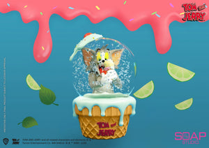 Tom and Jerry Snow Globe - Tom and Jerry Resin Statue - Soap Studios [Pre-Order]