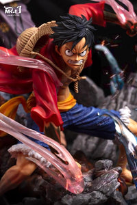 Shanks & Luffy - One Piece Resin Statue - MR.J Studios [Pre-Order]