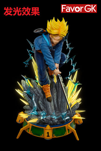 1/6 Scale Trunks with LED - Dragon Ball Resin Statue - Soul Art Studio [Pre-Order]