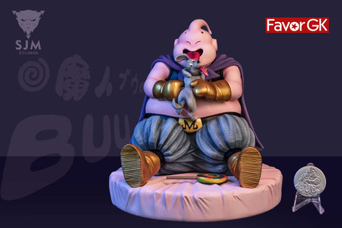 Fat Buu play with puppy - Dragon Ball Resin Statue - SJM Studio [Pre-Order]