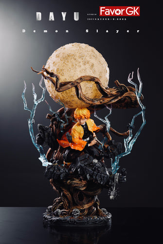 Zenitsu Agatsuma with LED - Demon Slayer: Kimetsu no Yaiba Resin Statue - DAYU Studios [Pre-Order]