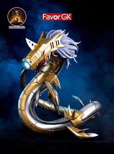 Metal Seadramon with LED - Digimon Resin Statue - MIMAN Studios [Pre-Order]