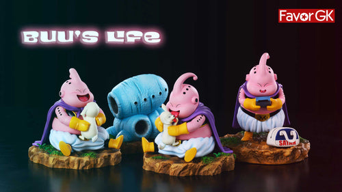 Buu's Life & House - Dragon Ball Resin Statue - A Plus Studios [Pre-Order]