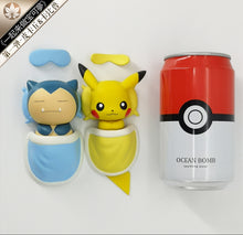 Load image into Gallery viewer, Sleeping Snorlax & Pikachu - Pokemon Resin Statue - QY Studios [Pre-Order] - FavorGK