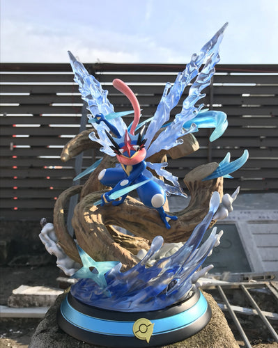 Greninja - Private - Pokemon Resin Statue - M5 Studios [In Stock] - FavorGK