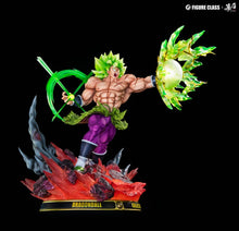 Load image into Gallery viewer, 1/6 Scale Broly holding Energy Ball - Dragon Ball Resin Statue - FC Studios [Pre-Order]