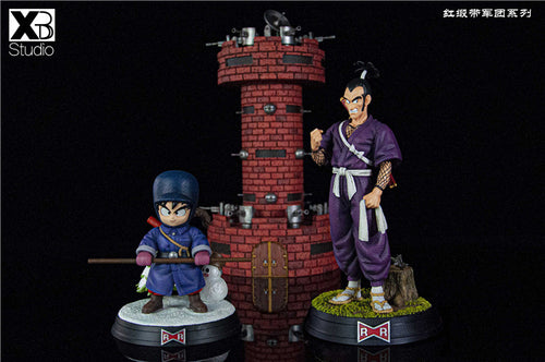 Snowfield Little Son Goku & ムラサキ曹长 - Dragon ball resin Statue - XBD Studios [Pre-Order]
