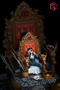 Sabo on the Throne - ONE PIECE Resin Statue - SFH Studios [Pre-Order]