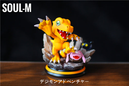 Evolution in growth period Agumon - Digimon Resin Statue - Soul M Studios [Pre-Order]