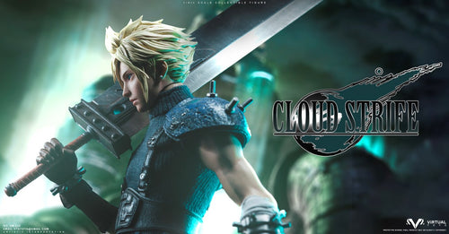 1/6 Scale Movable Cloud Strife - (FF7) Final Fantasy VII Resin Statue - VTSTOYS [Pre-Order]