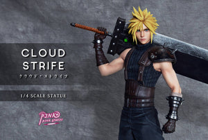 1/4 Scale Cloud Strife - (FF7) Final Fantasy VII Resin Statue - Pink Pink Studios [Pre-Order]