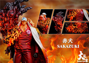 Red Cloth Version of Akainu/ Sakazuki - ONE PIECE Resin Statue - Big Players-Studios [Pre-Order]