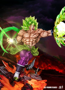 1/6 Scale Broly holding Energy Ball - Dragon Ball Resin Statue - FC Studios [Pre-Order]