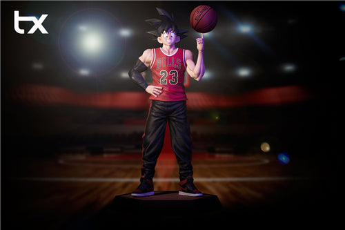 Goku With Basketball - Dragon Ball Resin Statue - TX Studios [Pre-Order]