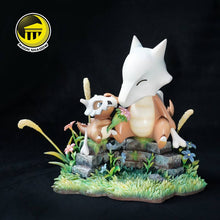 Load image into Gallery viewer, Cubone & Marowak - Pokemon Resin Statue - Moon shadow Studios [Pre-Order] - FavorGK