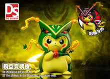 Load image into Gallery viewer, 8CM Rayquaza Cosplay Pikachu - Pokemon Resin Statue - DS Studios [Pre-Order] - FavorGK