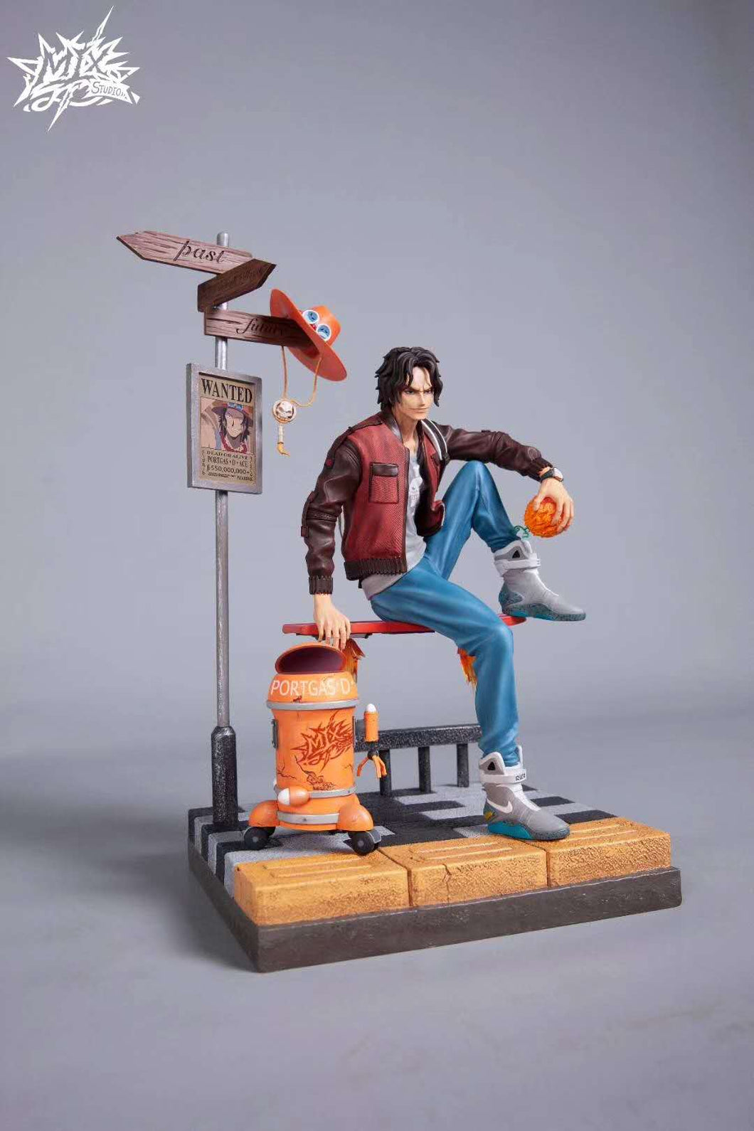 1/6 Scale Street Trend Portgas·D· Ace - ONE PIECE Resin Statue - MIX Studios [In Stock] - FavorGK