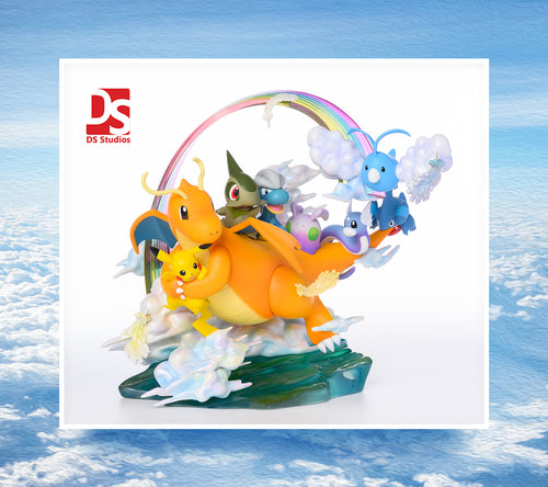 Dragon family - Private - Pokemon Resin Statue - DS Studios [Pre-Order] - FavorGK
