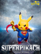 Load image into Gallery viewer, Superman Cosplay Pikachu - Pokemon Resin Statue - Vitamin Studios [Pre-Order]