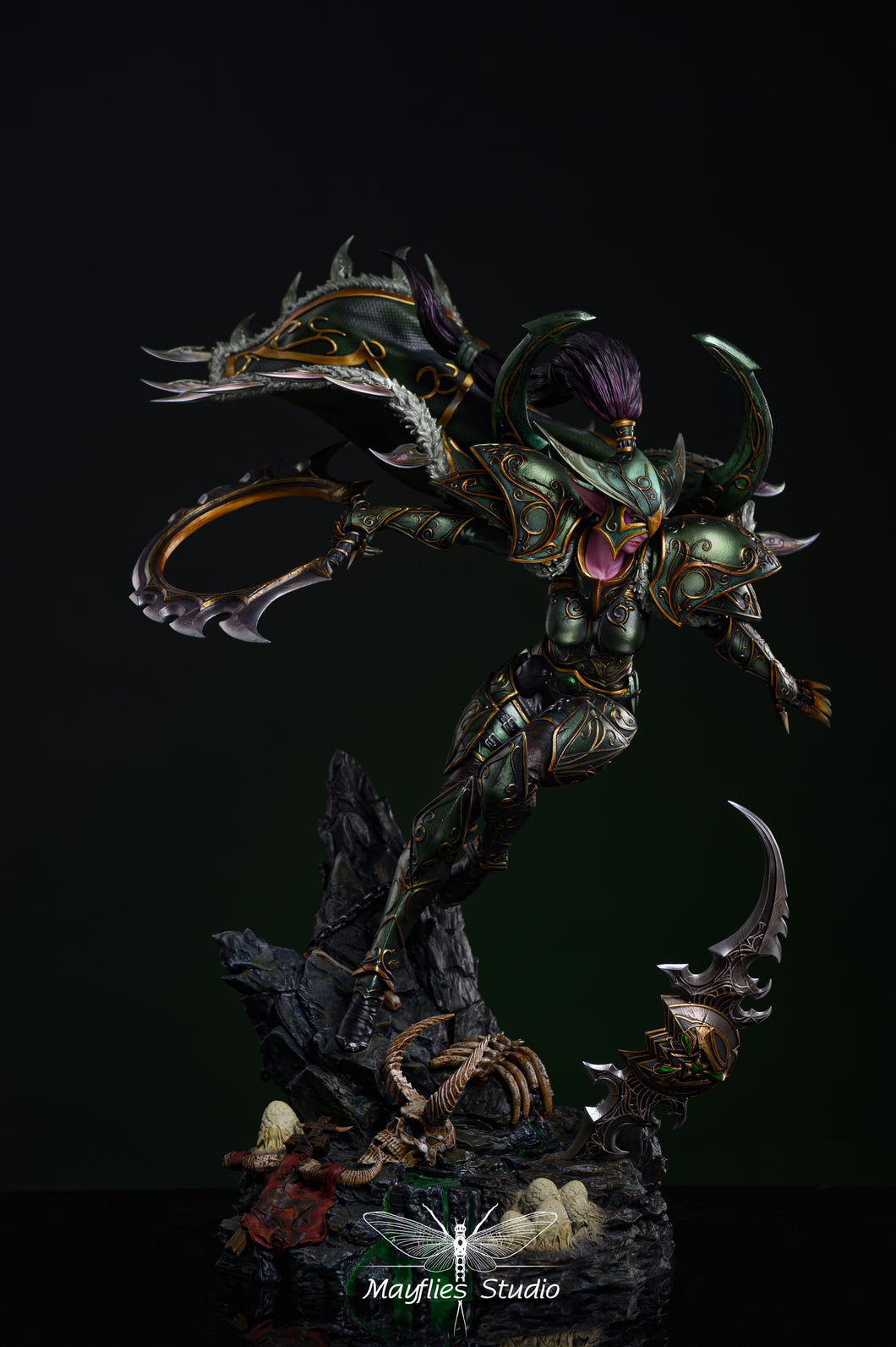 1/5 Scale Normal Demon Hunter - Warcraft 3 Resin Statue - Mayflies Studios [Pre-Order] - FavorGK