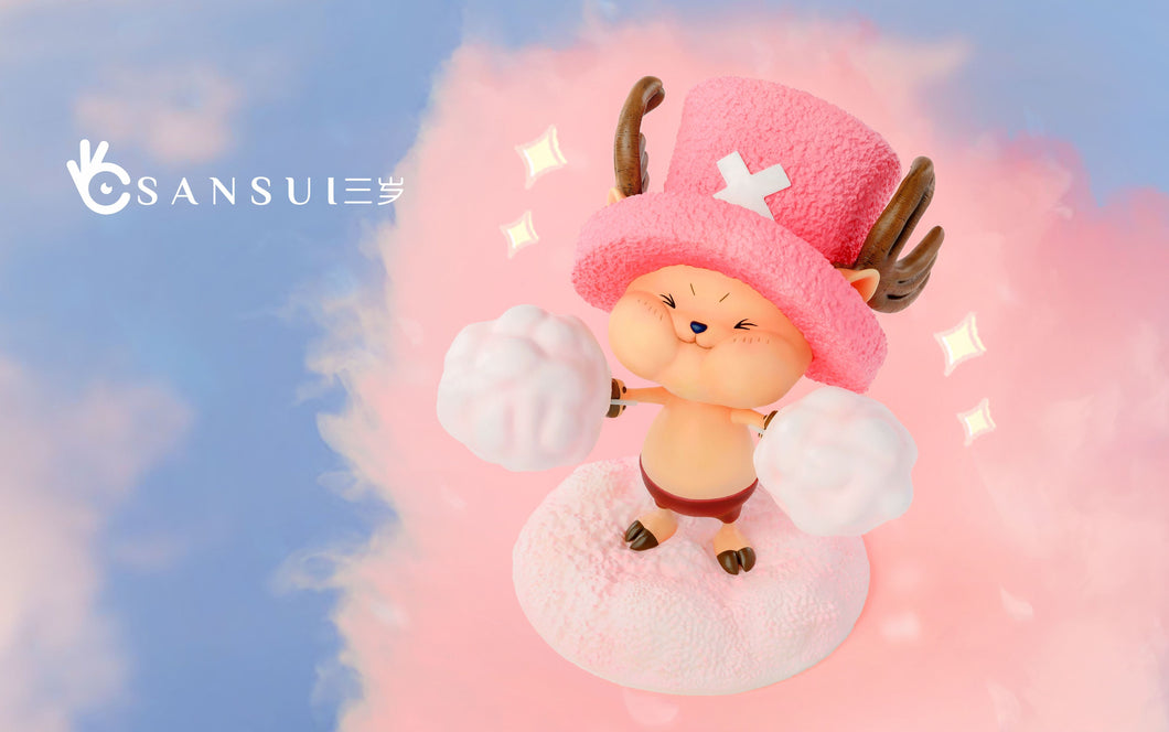 Tony Tony Chopper Eating Cotton Candy - ONE PIECE Resin Statue - SANSUI Studios [Pre-Order]