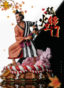 Nine Red Scabbards Foxfire Kin'emon - ONE PIECE Resin Statue - Move Studios [Pre-Order]
