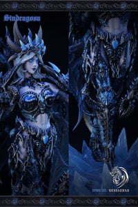 1/10 Scale Sindragosa - World of Warcraft Resin Statue - Leviathan Studios [Pre-Order]