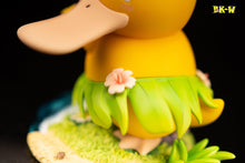 Load image into Gallery viewer, Samba Dance Series Grass Skirt Psyduck - Pokemon Resin Statue - BK-W Studios [Pre-Order] - FavorGK