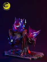 Load image into Gallery viewer, Gengar Evolution Line (Gastly Haunter) - Pokemon Resin Statue - Moon Shadow Studios [In Stock] - FavorGK