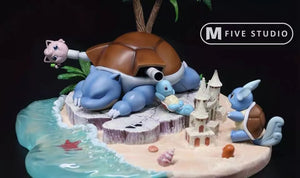 Blastoise Island - Pokemon Resin Statue - M5 Studios [In Stock] - FavorGK