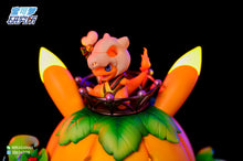 Load image into Gallery viewer, Pikachu Halloween Limited Edition Pumpkin Light - Pokemon Resin Statue - PL Studios [In Stock] - FavorGK