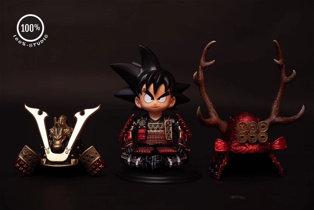 Samurai Childhood Goku & Vegeta - Dragon Ball Resin Statue - 100% Studios [Pre-Order] - FavorGK